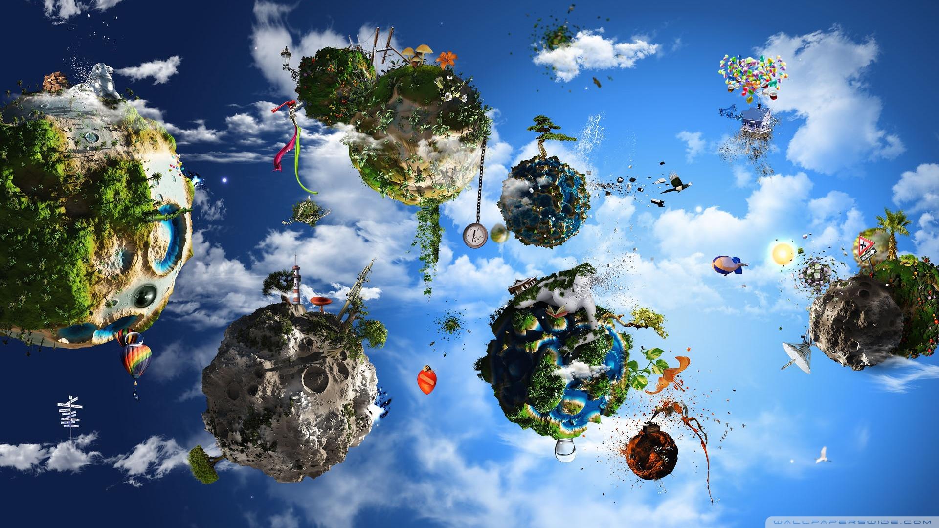 A Fantasy World HD desktop wallpaper : Widescreen : High