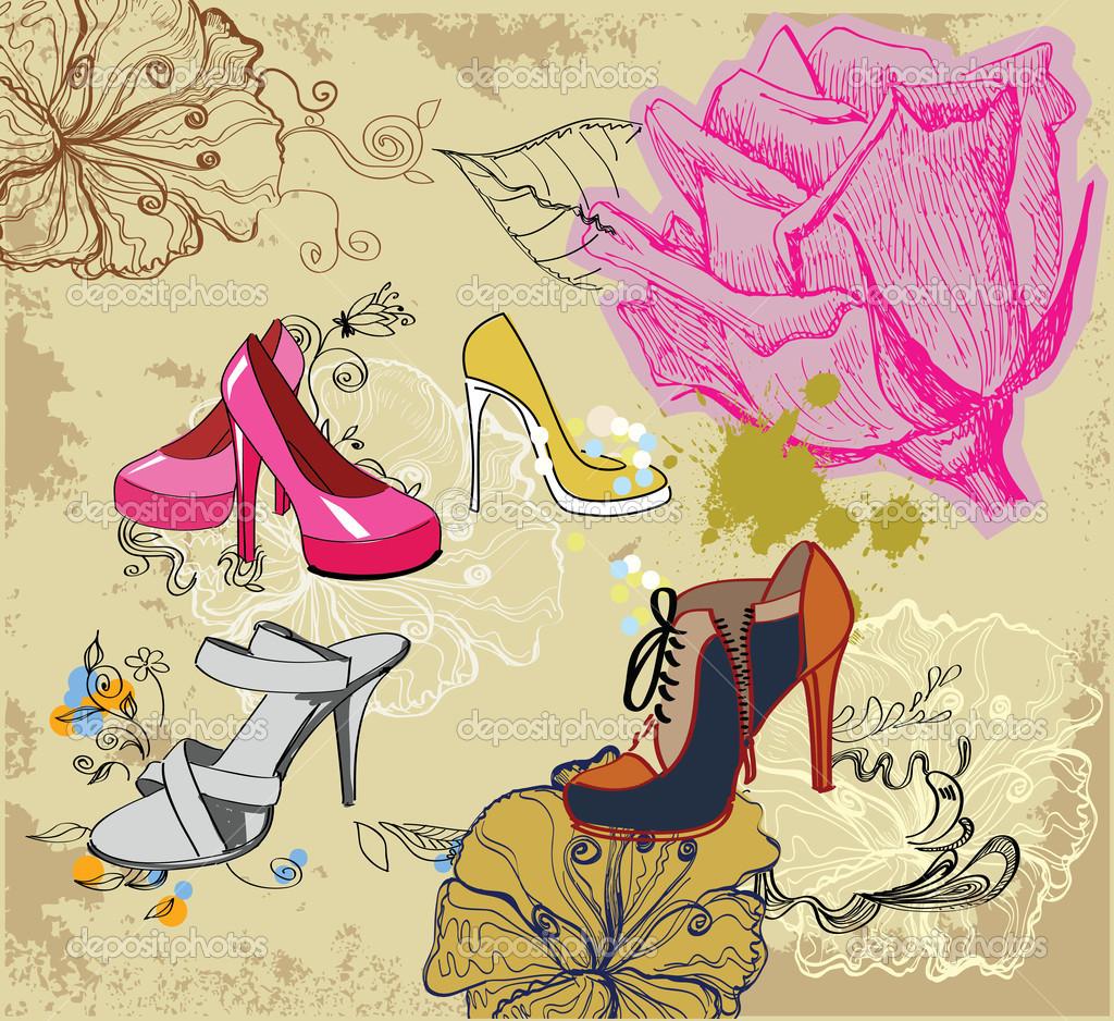 Fashion background — Stock Vector © bioraven #11861239