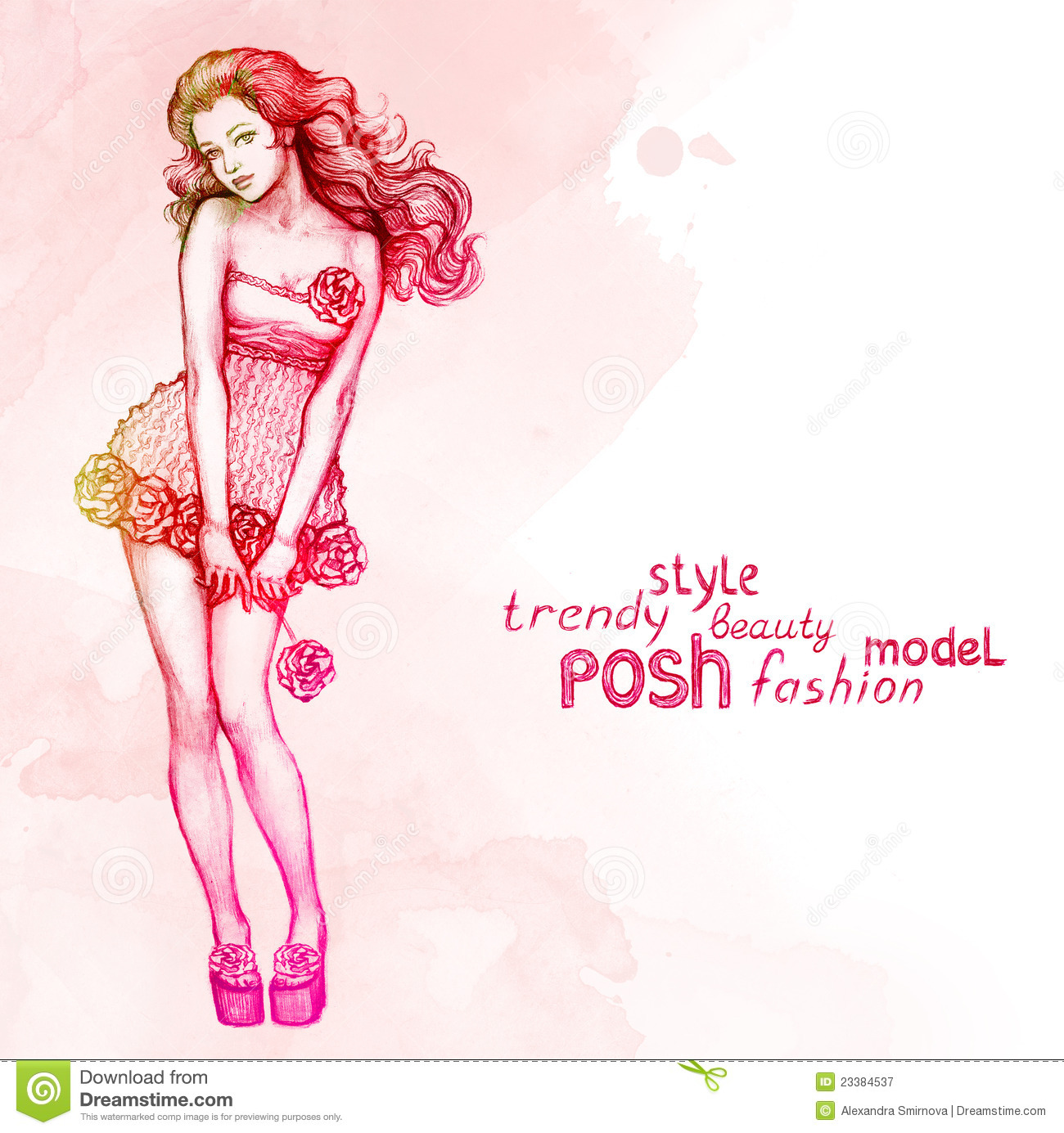 Fashion Background Royalty Free Stock Photography - Image: 23384537