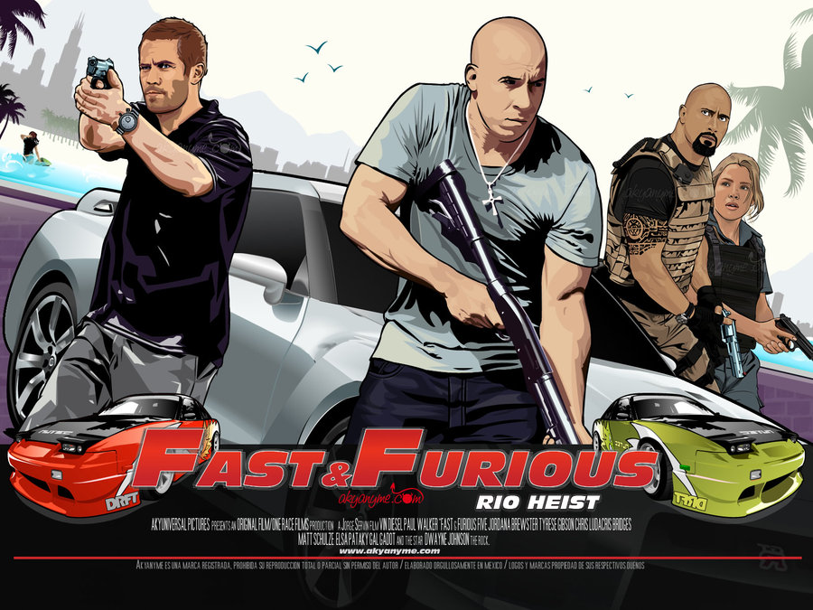 Fast And Furious 5 Wallpaper Sf Wallpaper