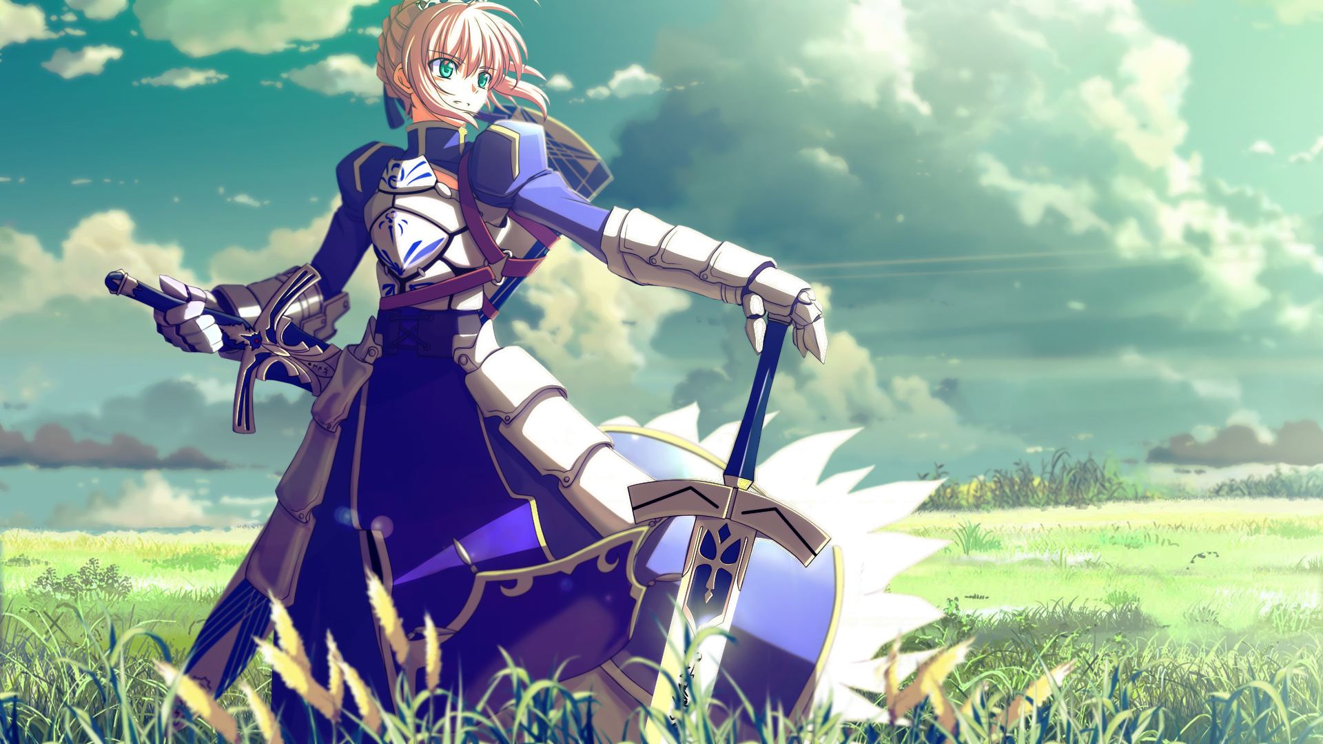 Download Saber Fate Stay Night Wallpaper 1920x1080 | Full HD