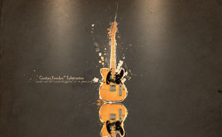 Awesome HD Wallpaper Guitar Fender Telecaster For Your PC Desktop