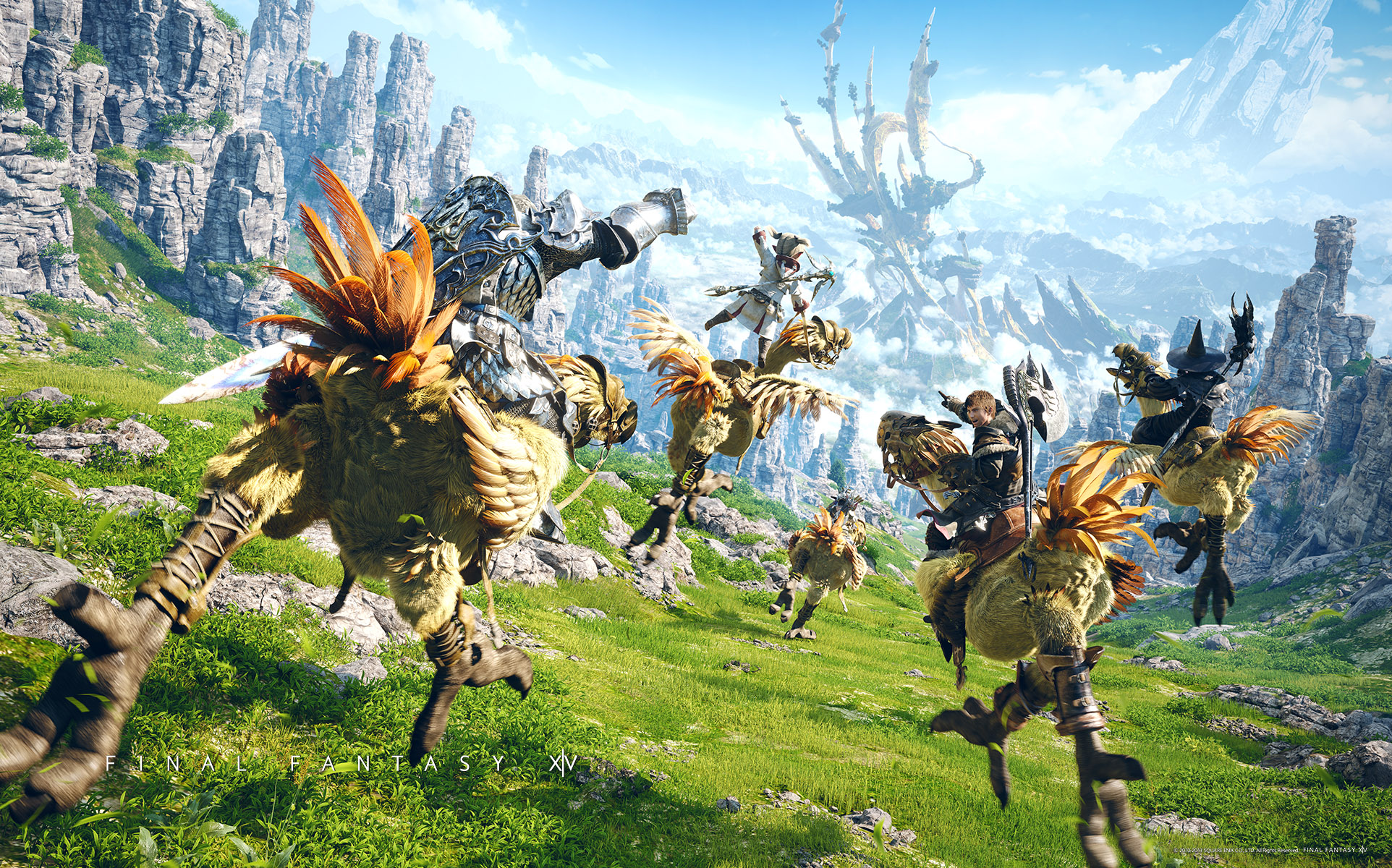 40 Final Fantasy XIV: A Realm Reborn HD Wallpapers | Backgrounds