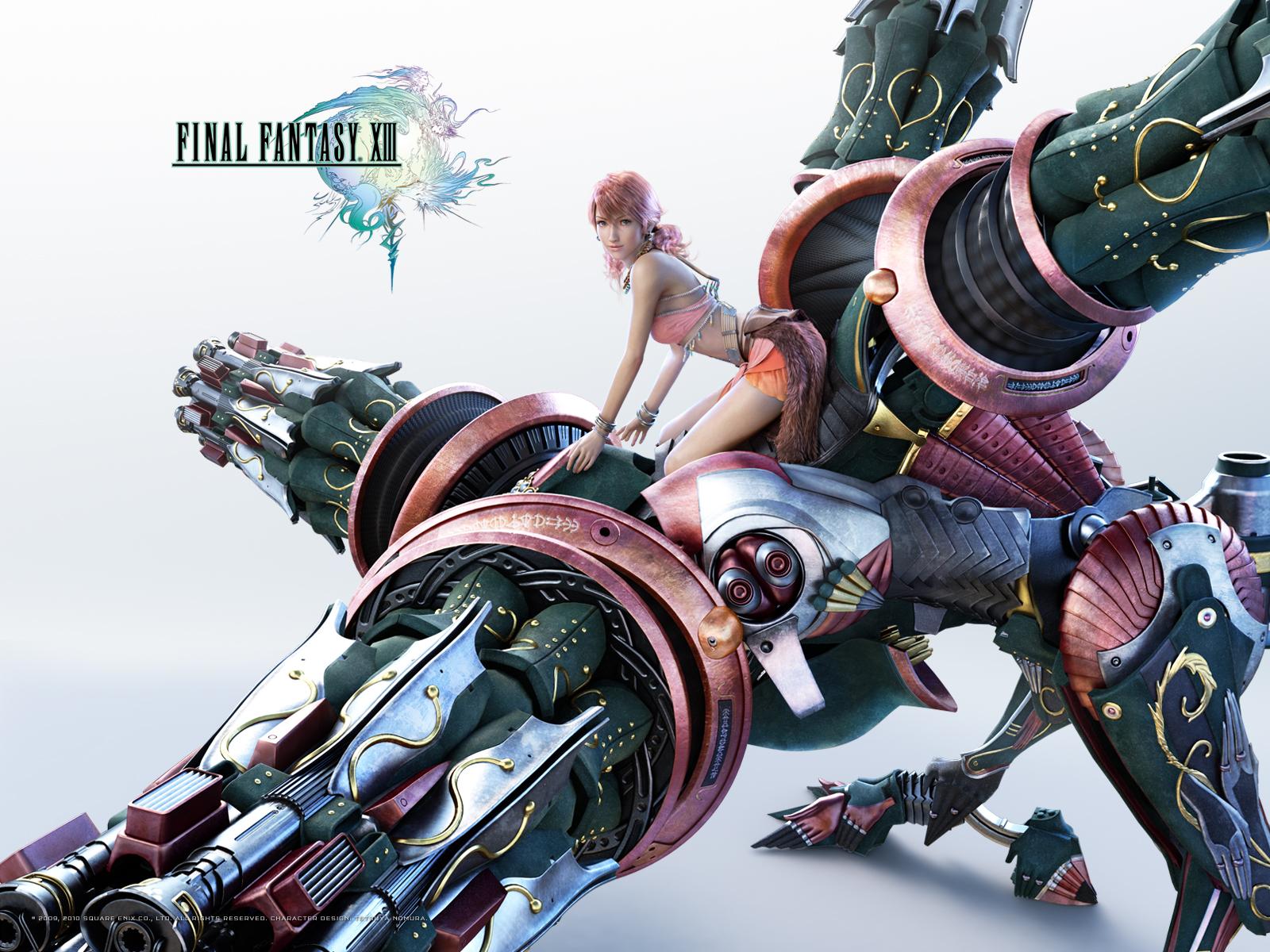 Final Fantasy XIII / FFXIII / FF13 - Wallpapers