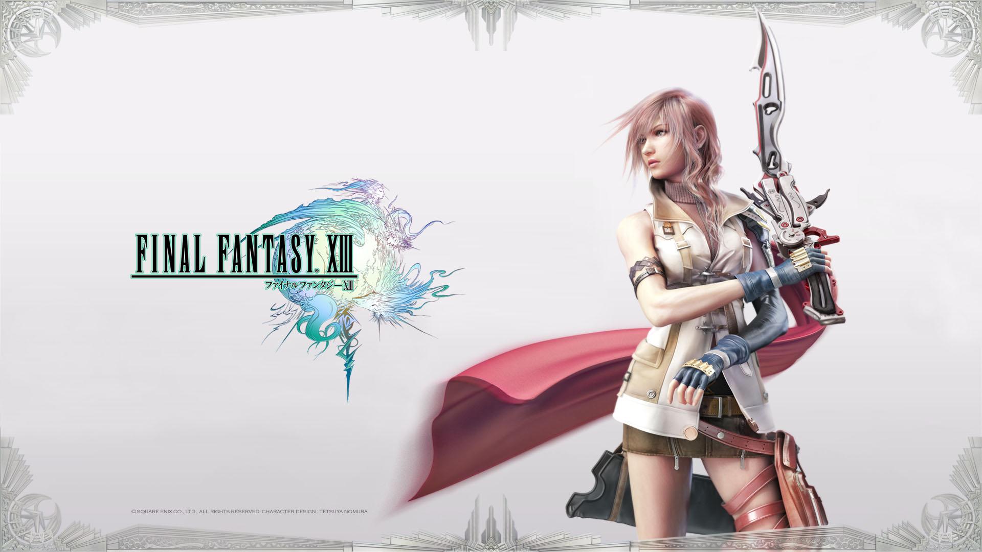Desktop Wallpaper Final Fantasy Xiii #h354969 | Games HD Images