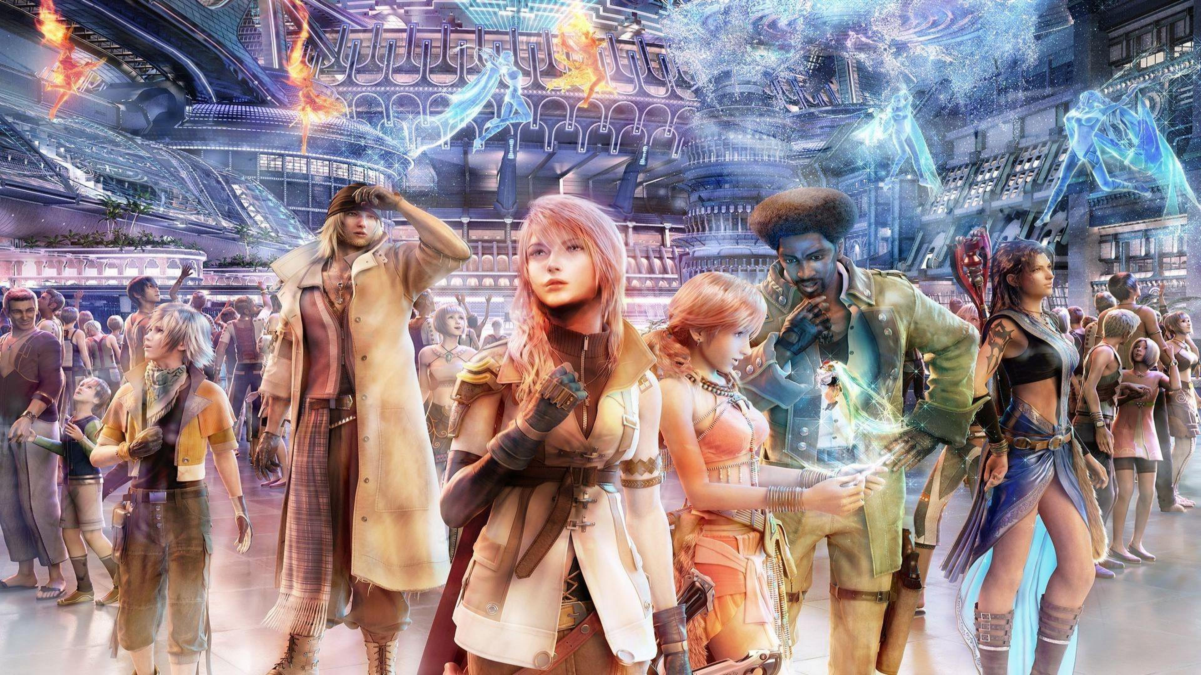 Final Fantasy Xiii XIII Games HD Wallpapers Desktop Src