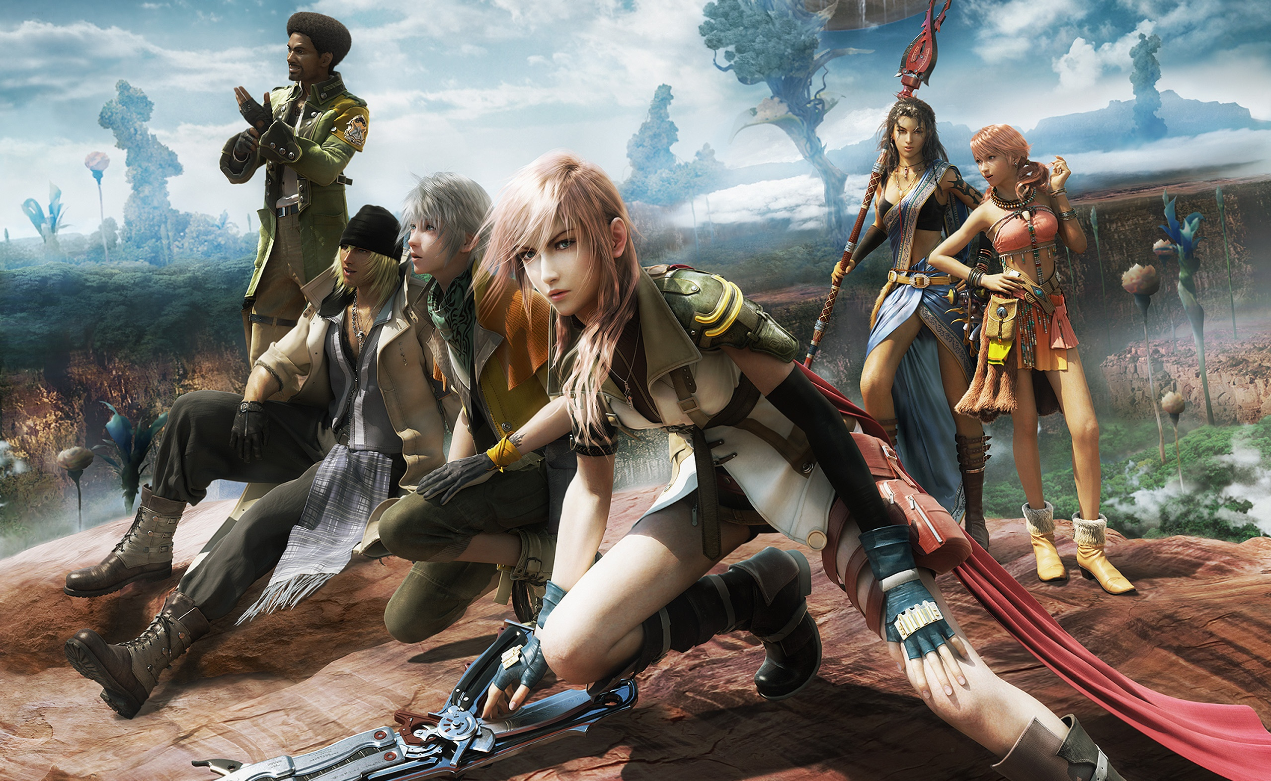 49 Final Fantasy XIII HD Wallpapers | Backgrounds - Wallpaper Abyss