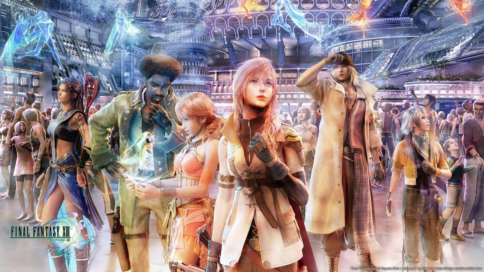 FF XIII Wallpapers Group (76+)