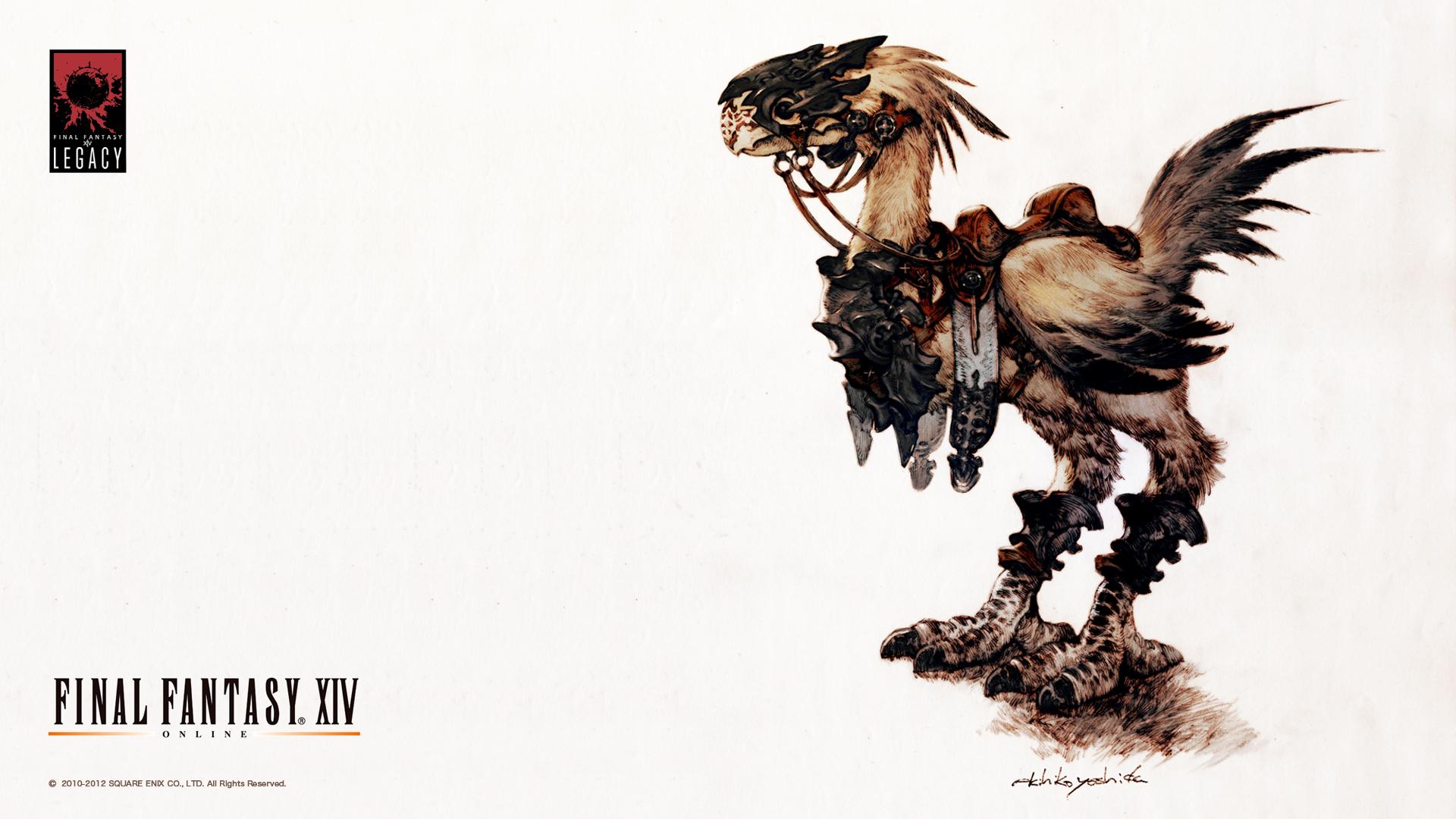 Image - FFXIV Wallpaper 1920x1080 Chocobo jpg | Final Fantasy Wiki