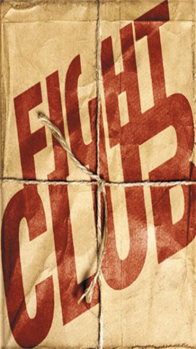 Fight Club Iphone Wallpaper Page 1