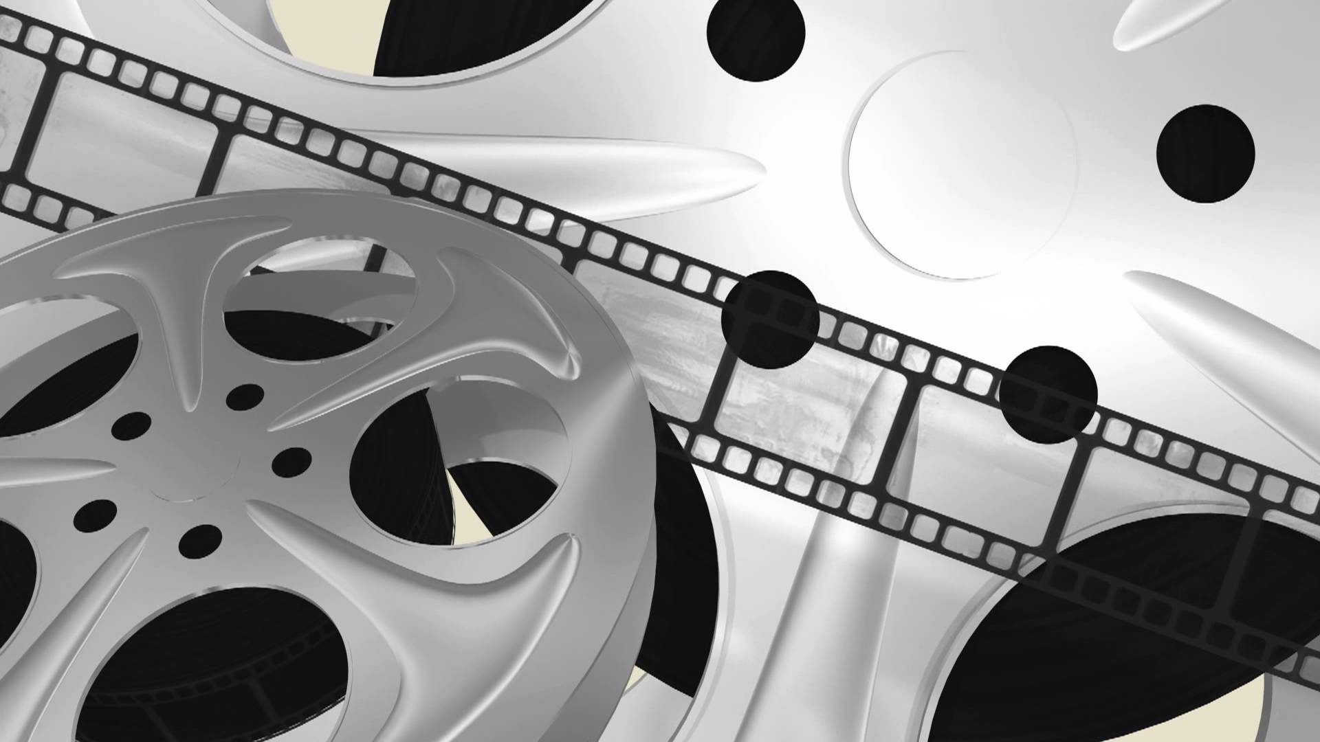 Film reels movie - free loop 3D animated HD background #02 - YouTube