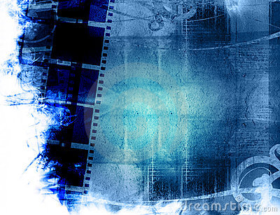 Grunge Film Strip Backgrounds Royalty Free Stock Images - Image
