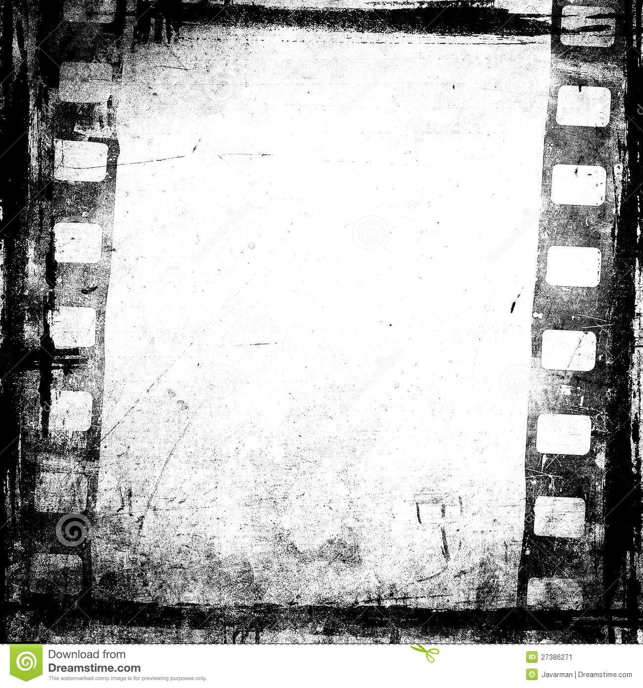 Grunge Film Background Stock Image - Image: 27386271
