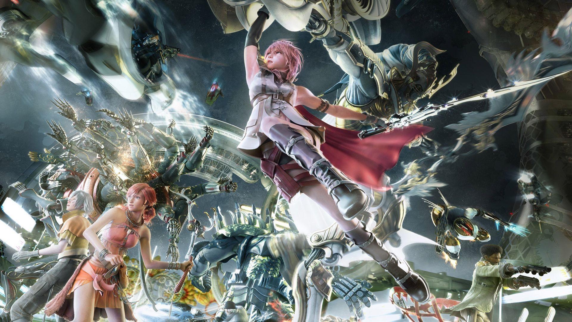Final Fantasy Xiii 2 Wallpapers - WallpaperSafari