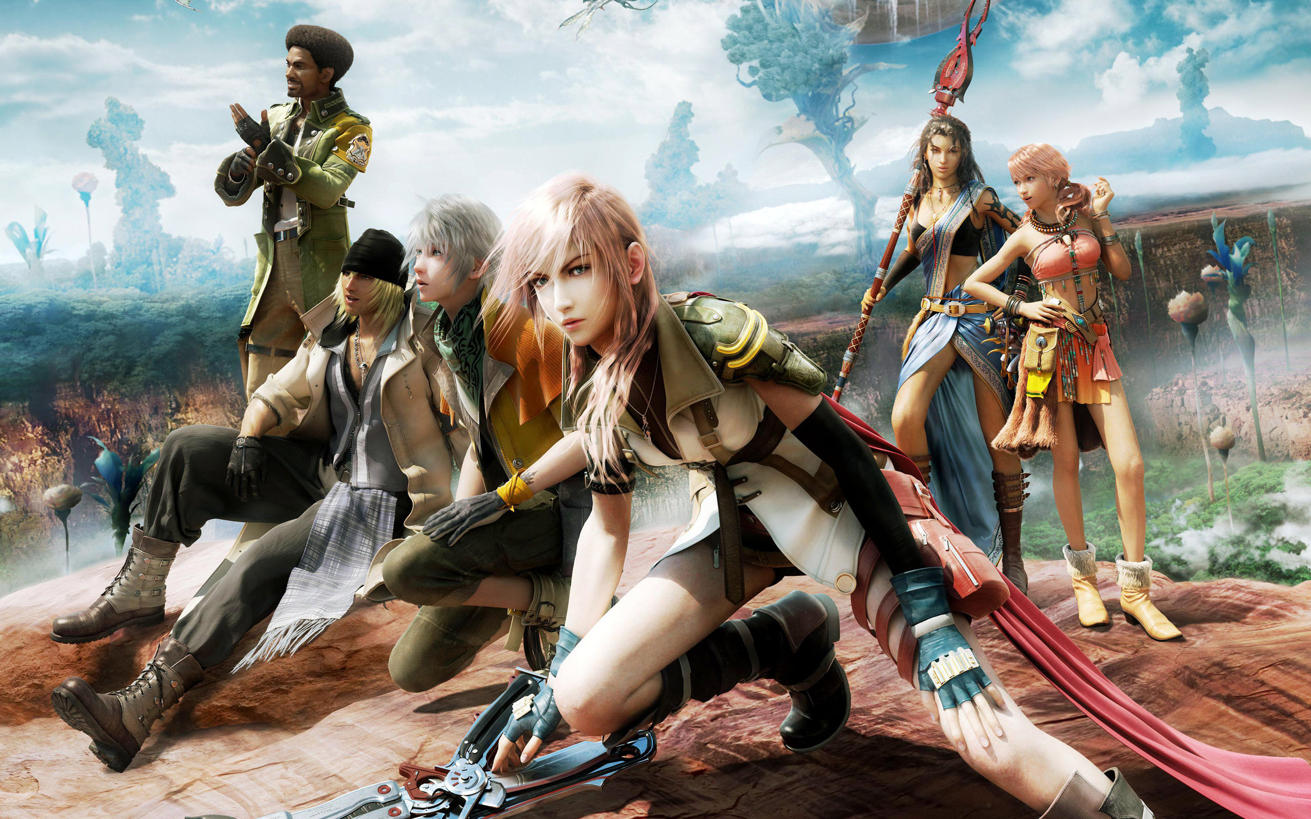 Final Fantasy 13 Wallpaper Hd