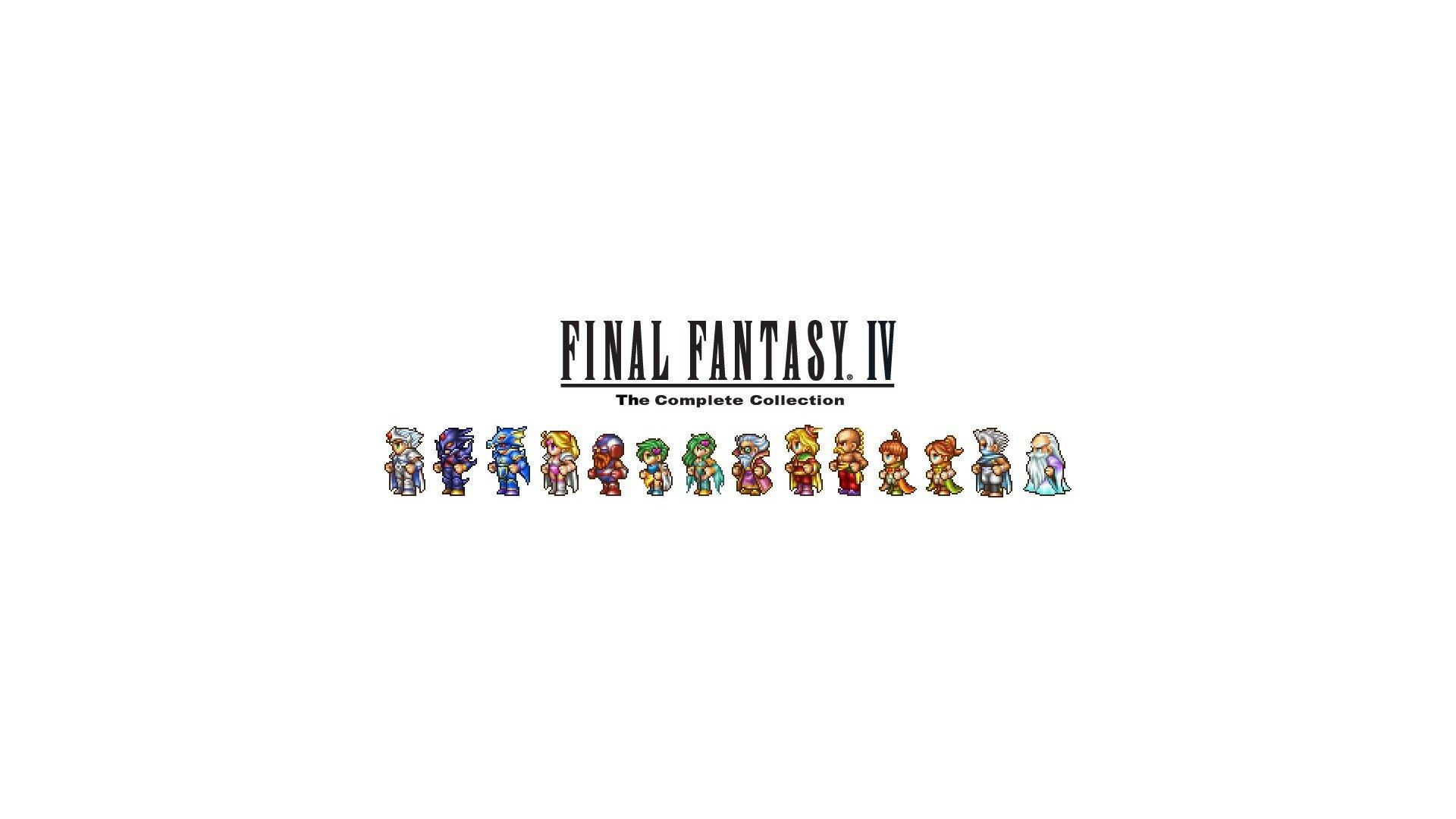 Final Fantasy Iv Sprites Wallpaper