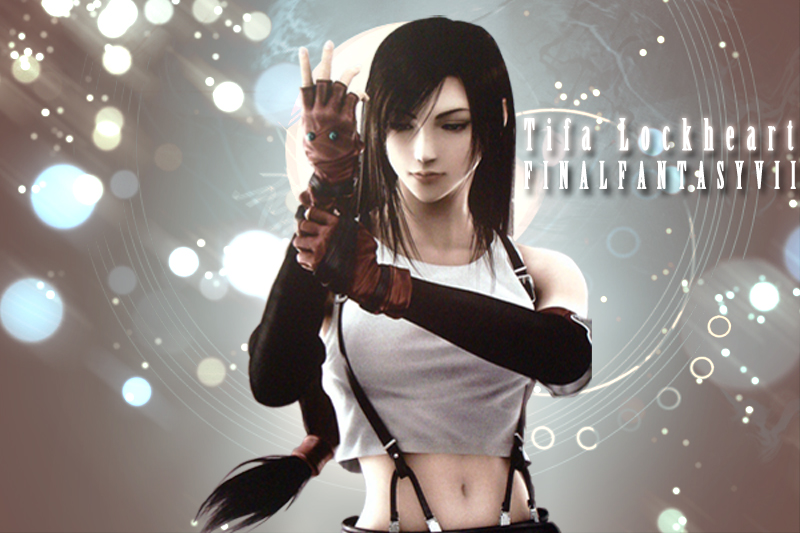 final fantasy tifa wallpaper