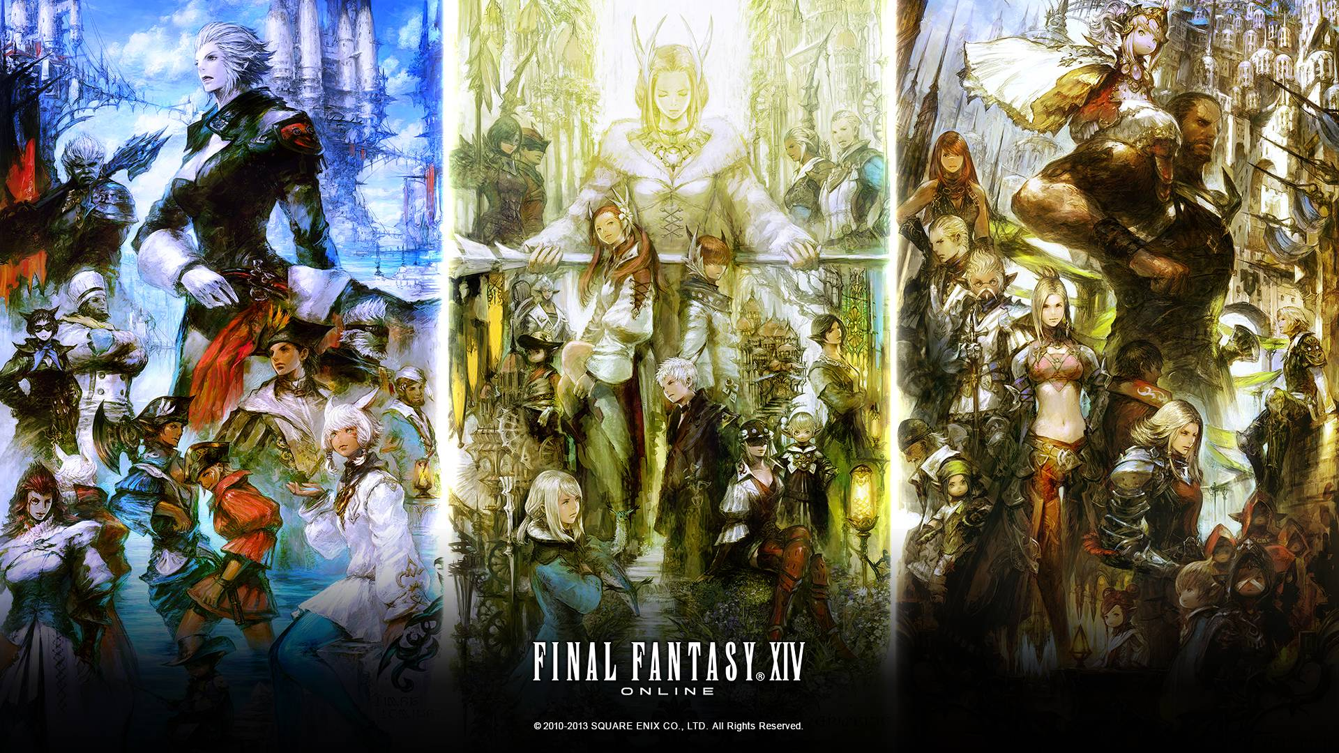 Final Fantasy XIV Wallpapers - Wallpaper Cave
