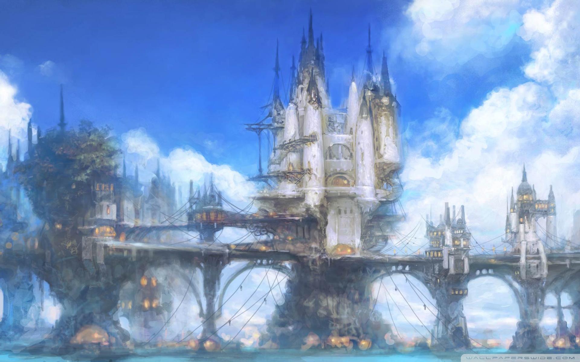 Final Fantasy XIV Online HD desktop wallpaper : Widescreen : High