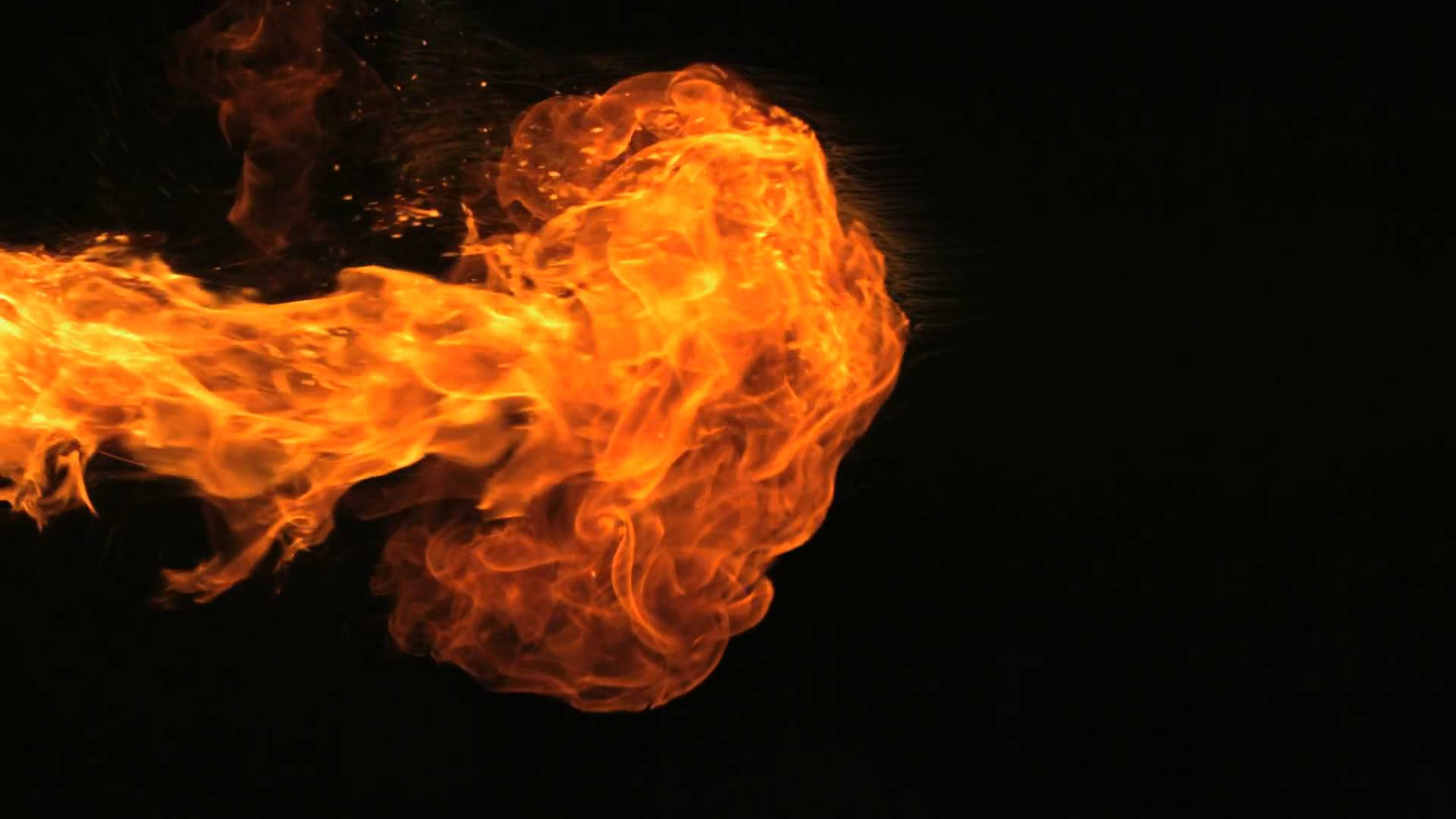Slow Motion Fire HD Motion Background - YouTube