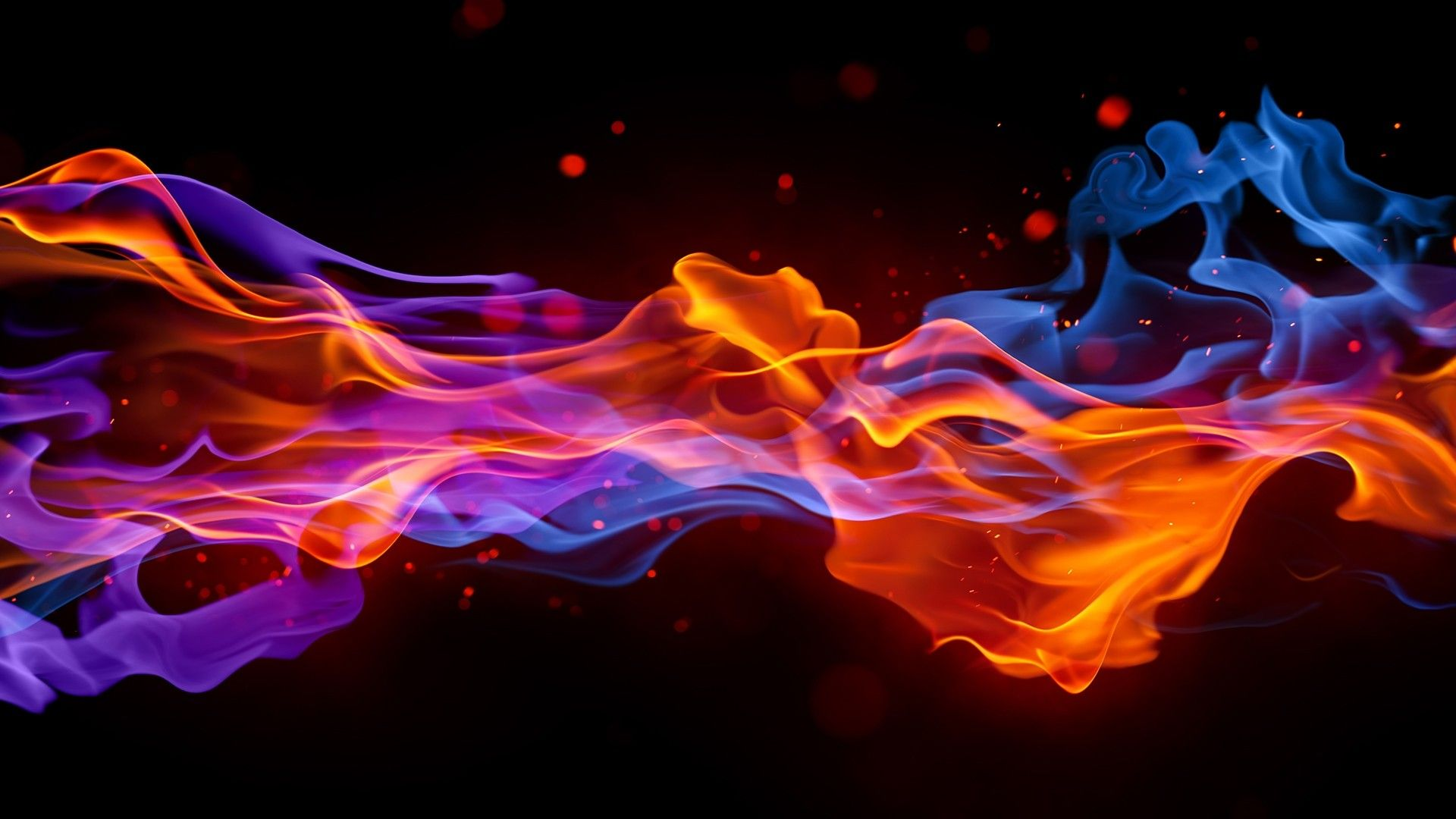 Blue Flame Wallpapers - Wallpaper Cave