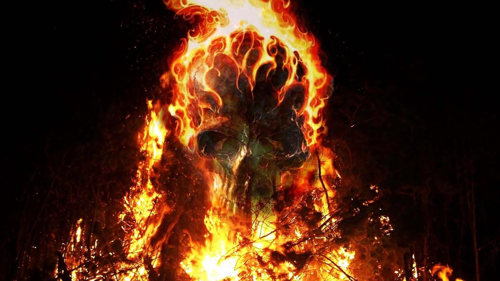 Fire Skulls Live Wallpaper - Android Apps on Google Play