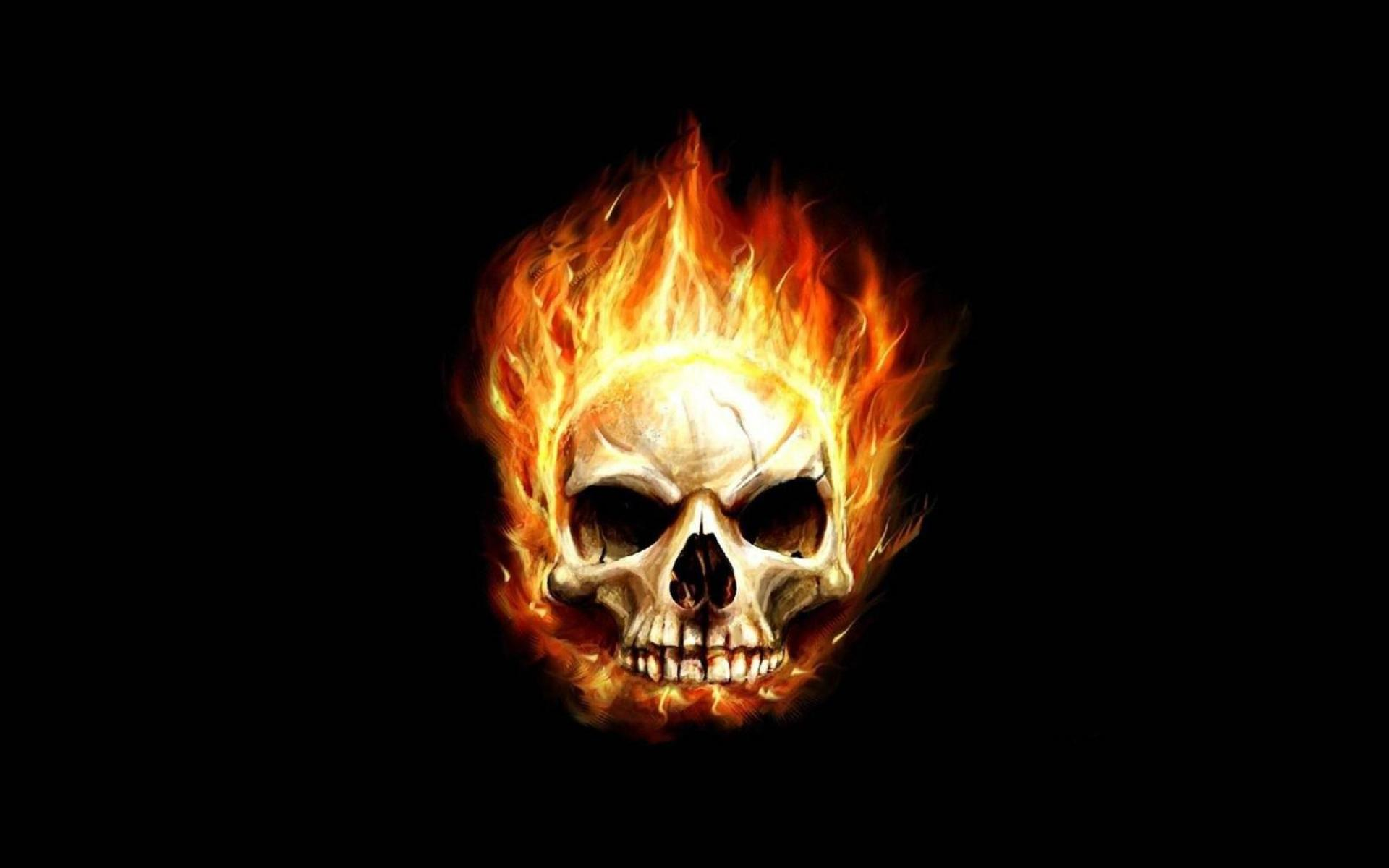 Fire Skulls Wallpapers - Wallpaper Cave
