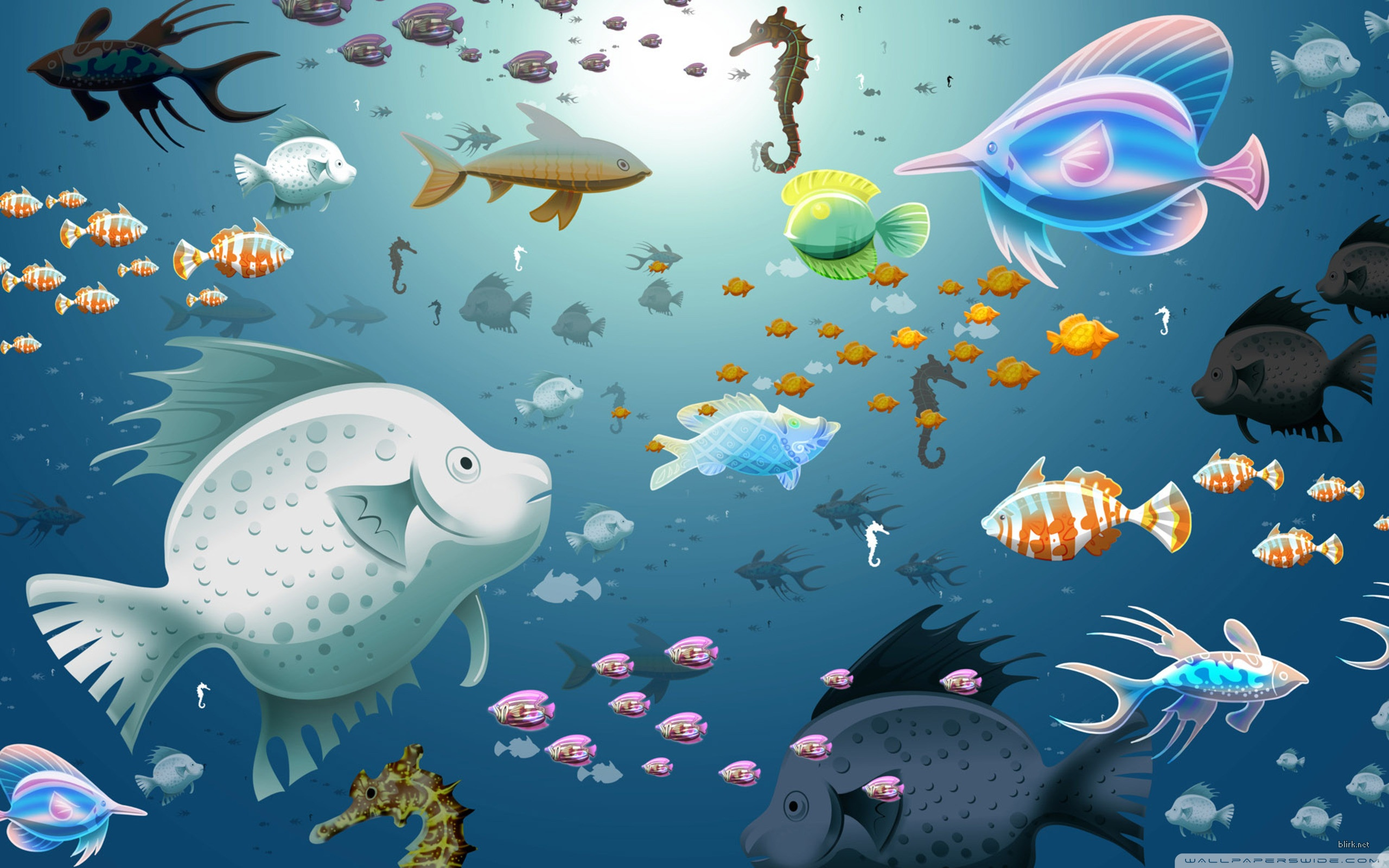 Fish HD desktop wallpaper : Widescreen : High Definition : Mobile