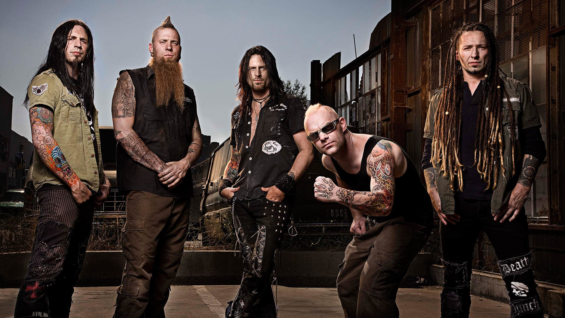 Five Finger Death Punch Wallpapers Sf Wallpaper