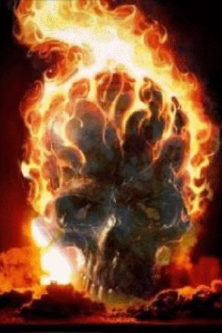 Skull In Flame Live Wallpaper - Android Apps on Google Play