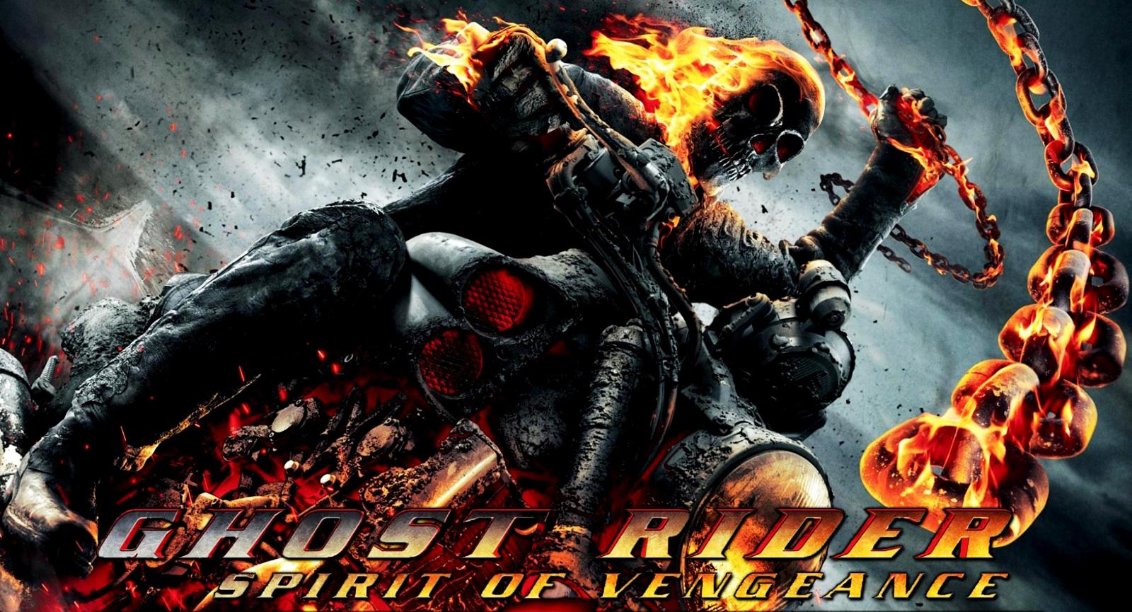 Flaming Skulls Wallpaper Page 1