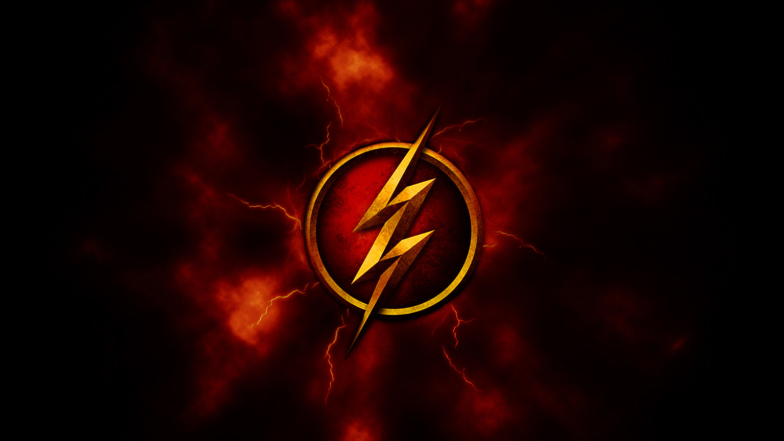 the flash logo wallpaper #11