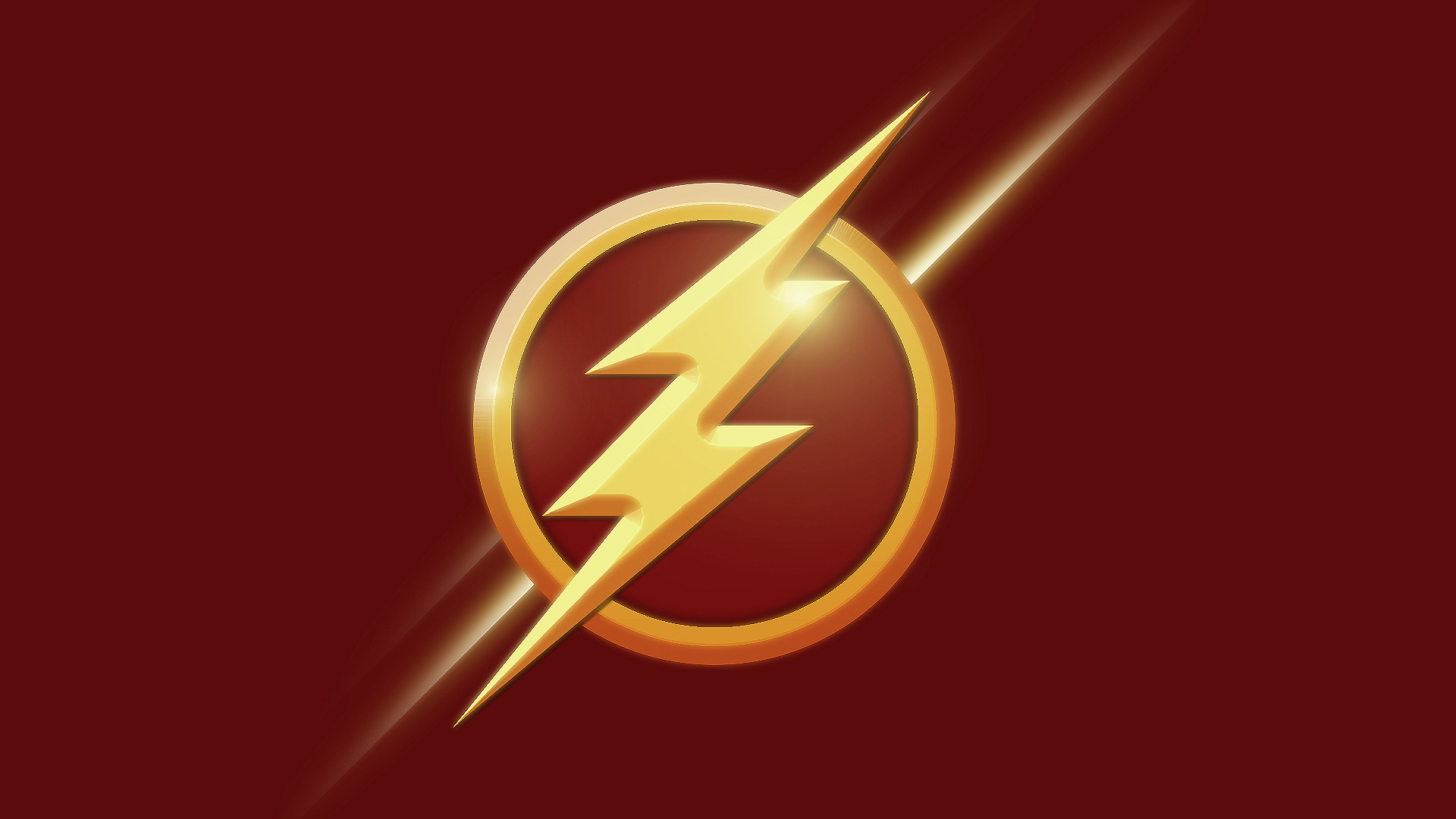 The Flash Logo Wallpaper - WallpaperSafari