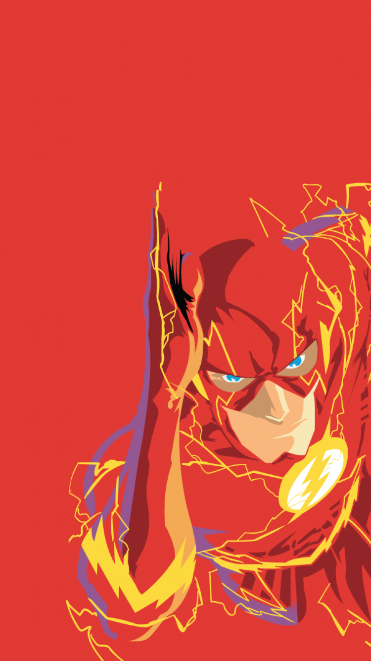iPhone 6 - Comics/Flash - Wallpaper ID: 98805