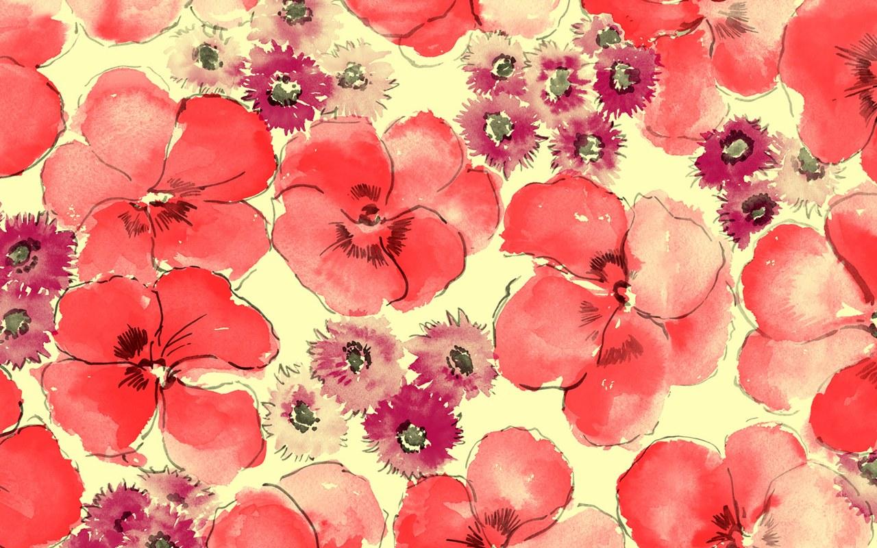 Floral Computer Wallpaper