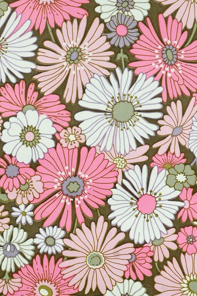 1000+ ideas about Floral Pattern Wallpaper on Pinterest | Vintage