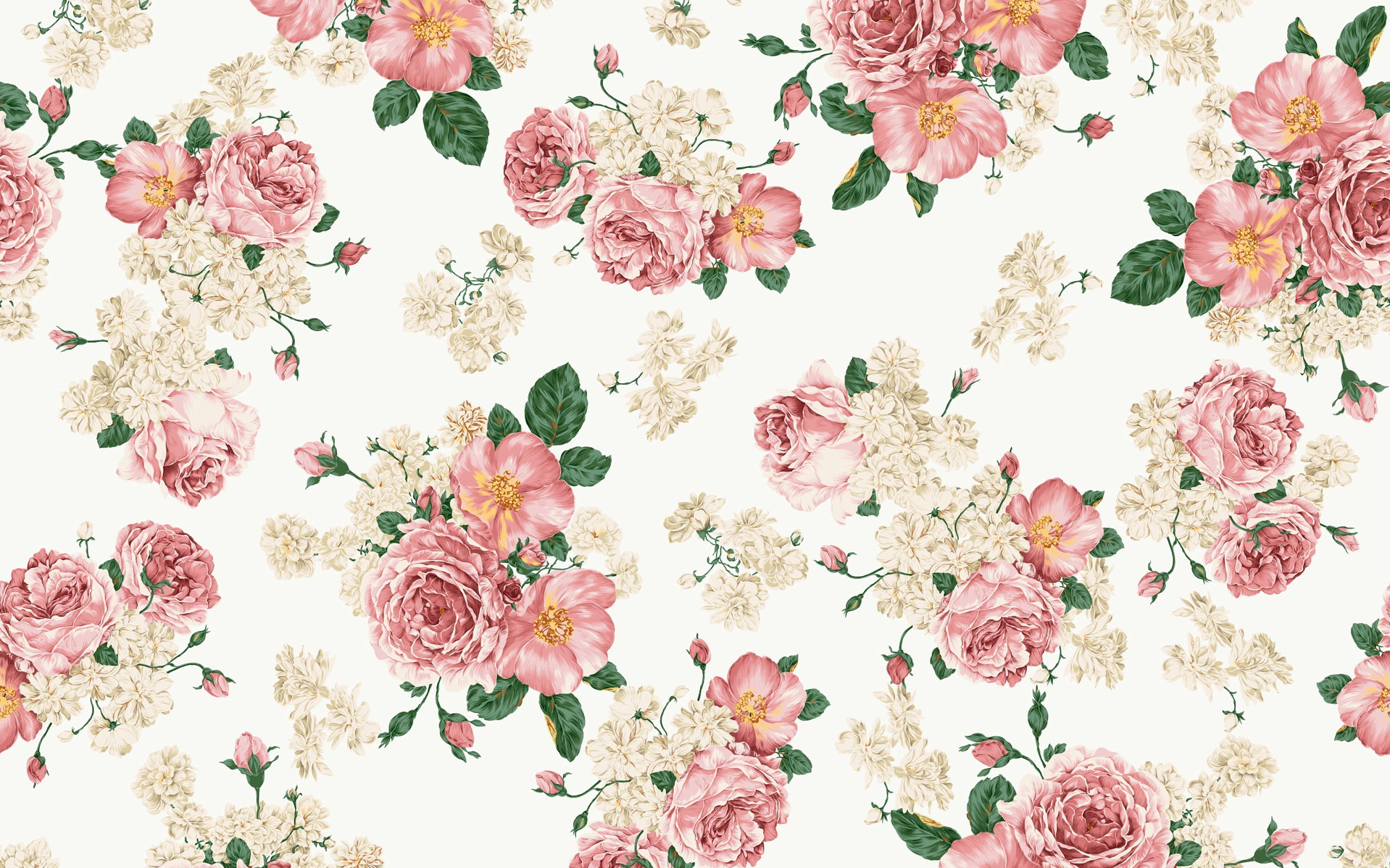 Floral Print Wallpapers Group (51+)