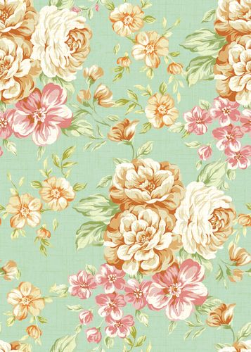 vintage floral print background tumblr - Google Search | Flower