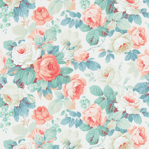 Tags Backgrounds Floral Vintage Blue Duck Egg Blue Pink Background
