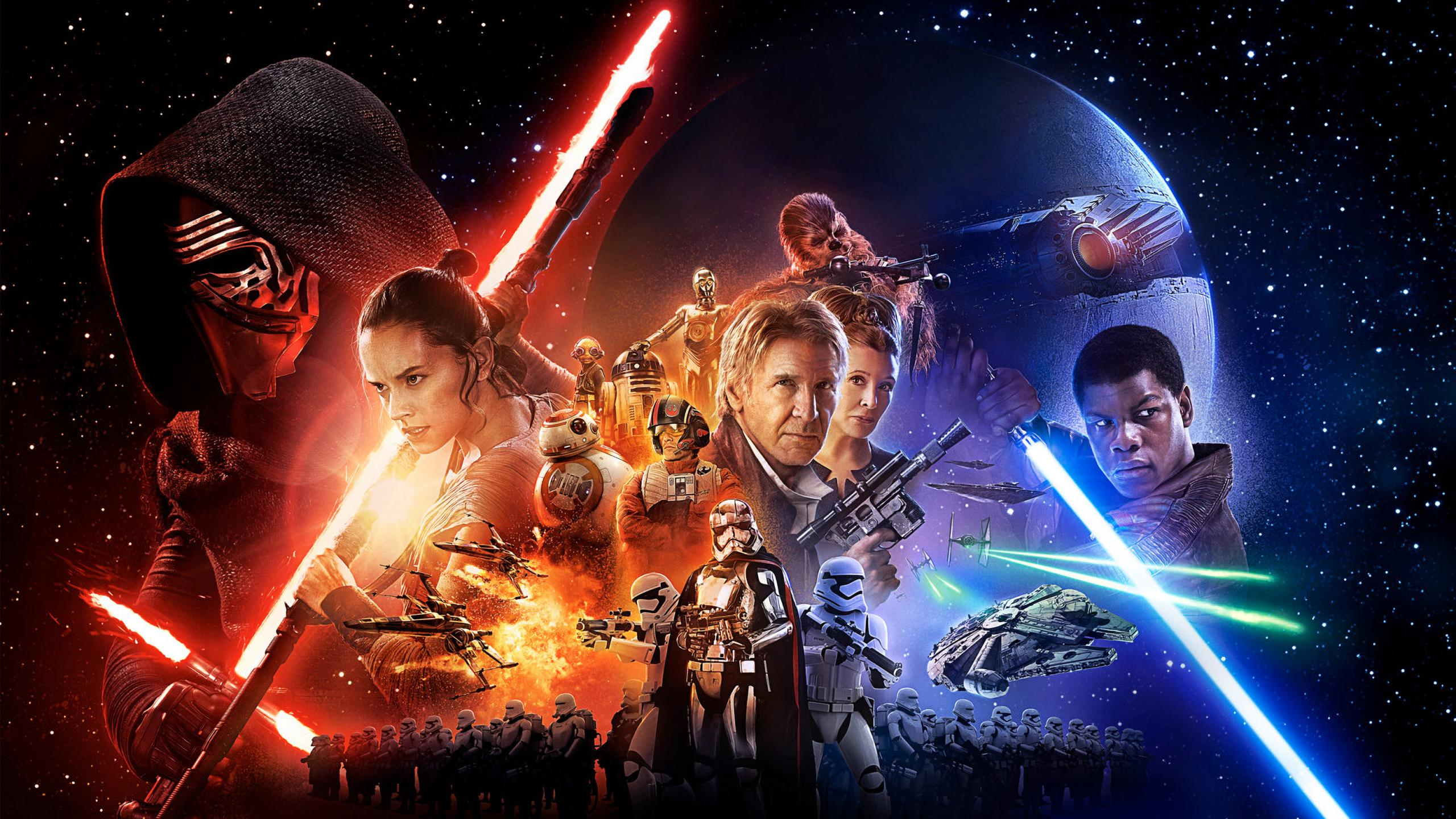 191 Star Wars Episode VII: The Force Awakens HD Wallpapers