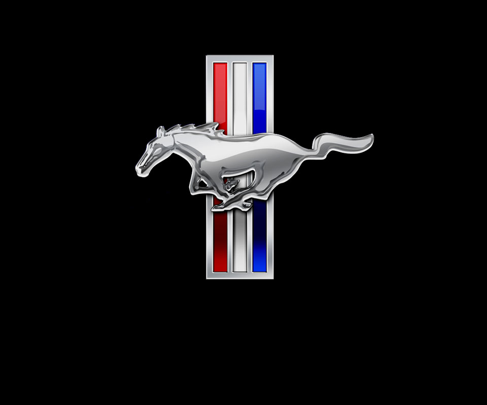 Mustang Logo Wallpaper - WallpaperSafari