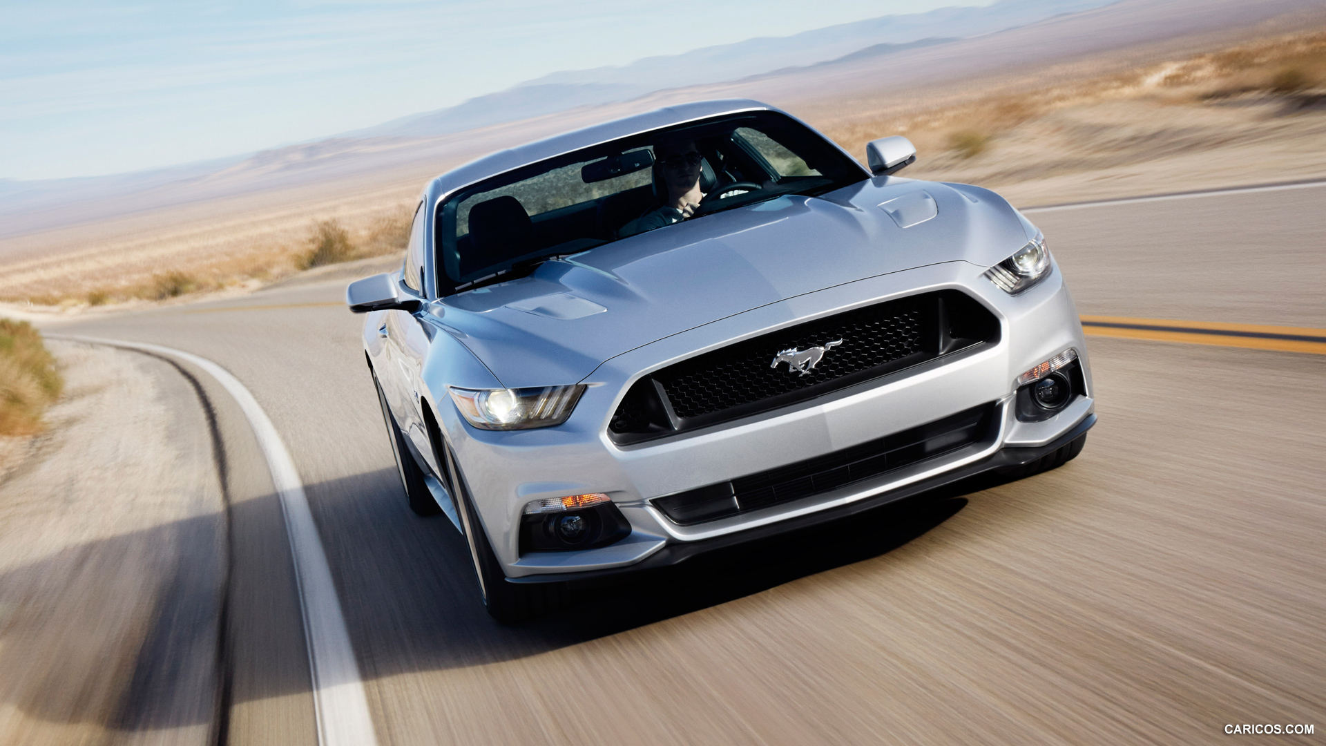 2015 Ford Mustang GT - Front | HD Wallpaper #8