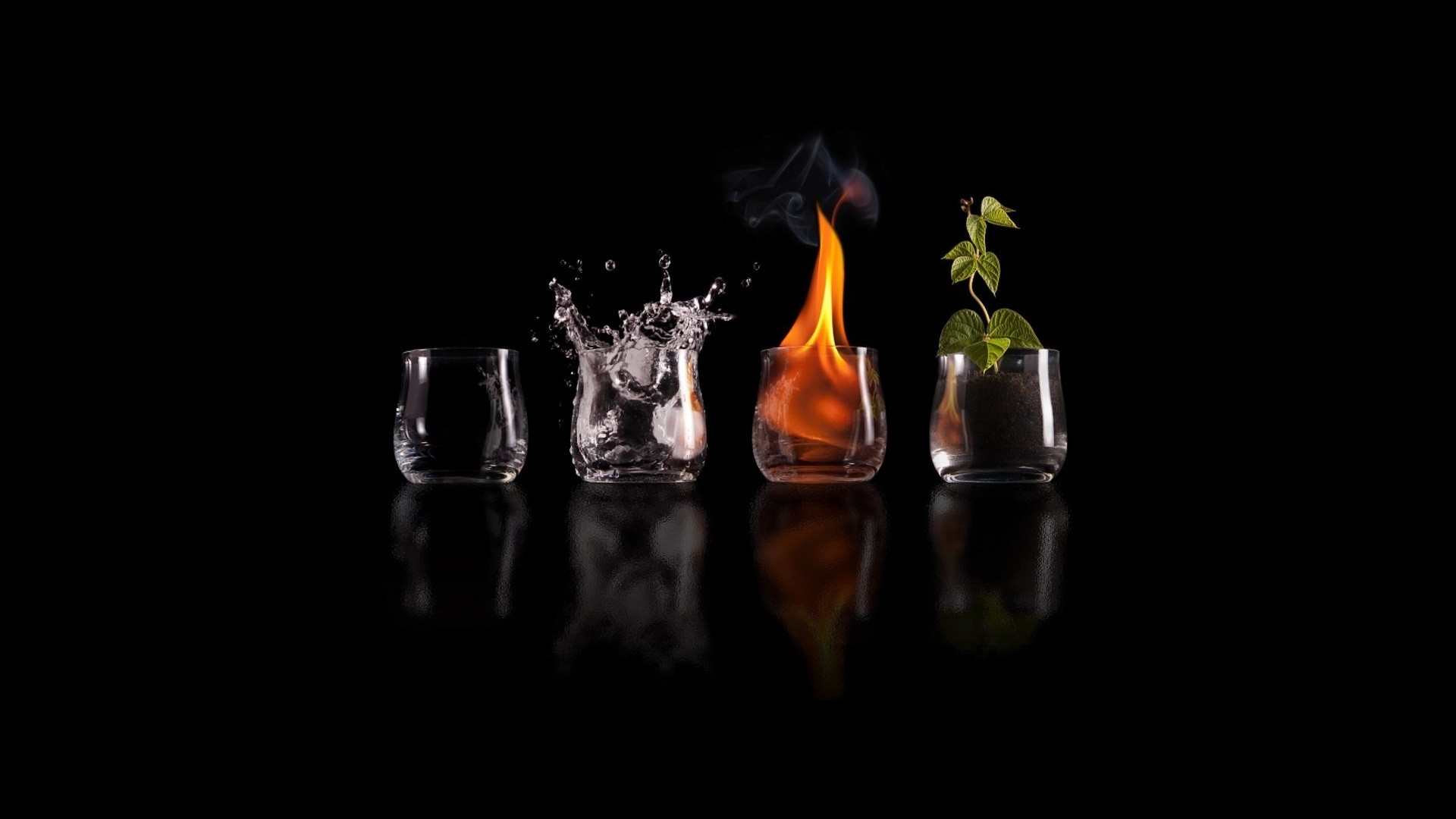 Collection of Four Elements Wallpaper on HDWallpapers