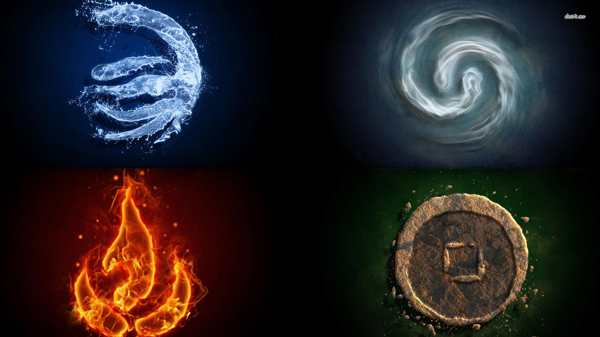 The Four Elements Wallpaper | Desktop Image