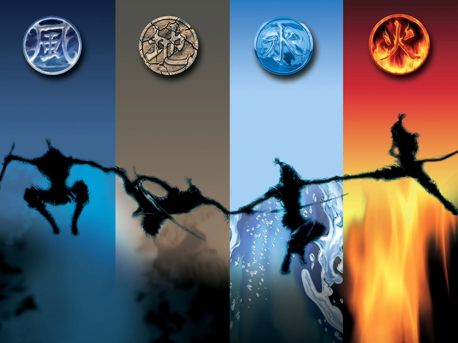 The Four Elements images Air, earth, water, fire HD wallpaper and