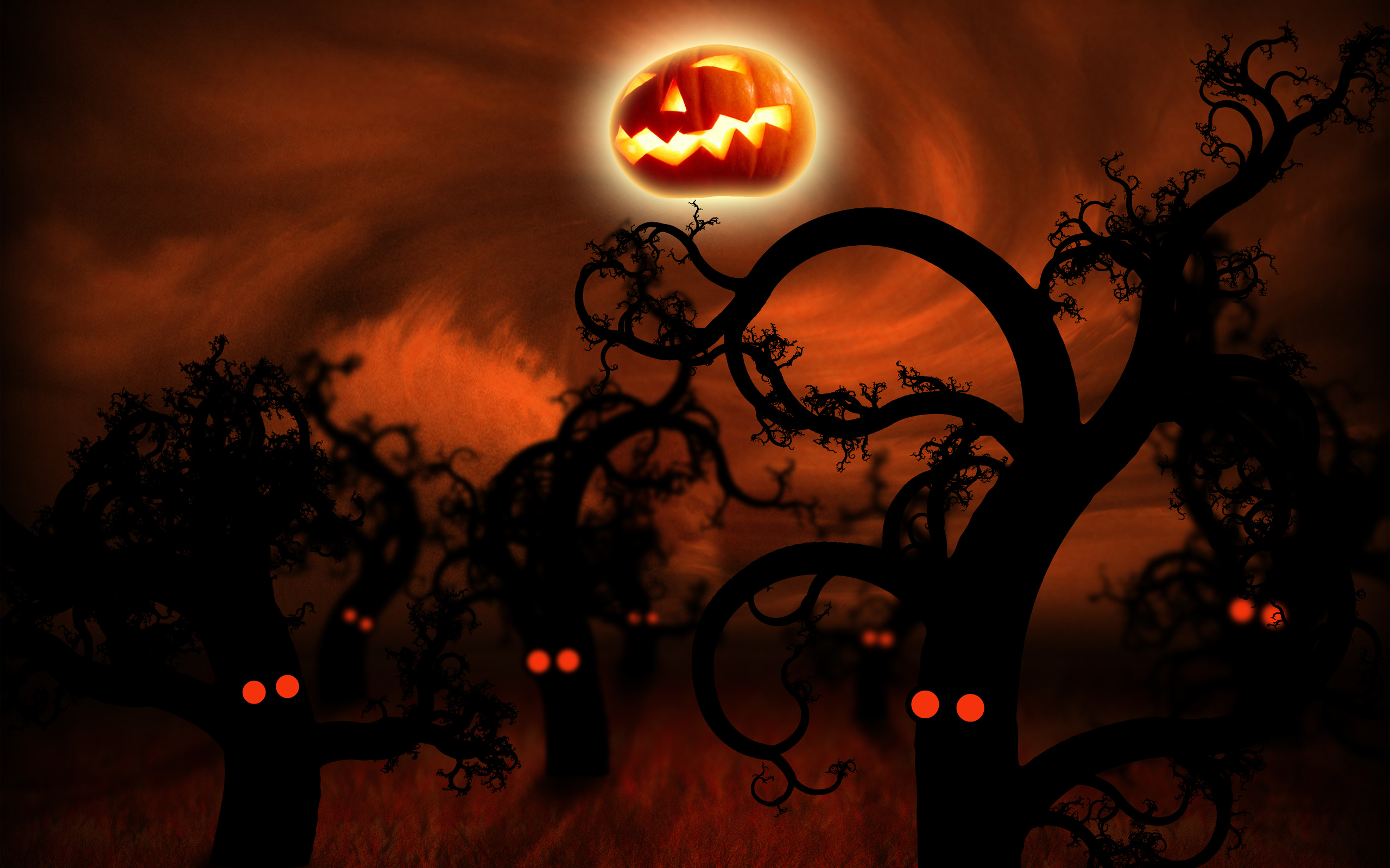 Free Halloween Animated Desktop Wallpaper - WallpaperSafari