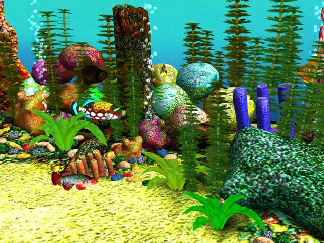 Free 3D Aquarium Screensaver Download - Free 3D Aqua Screensaver