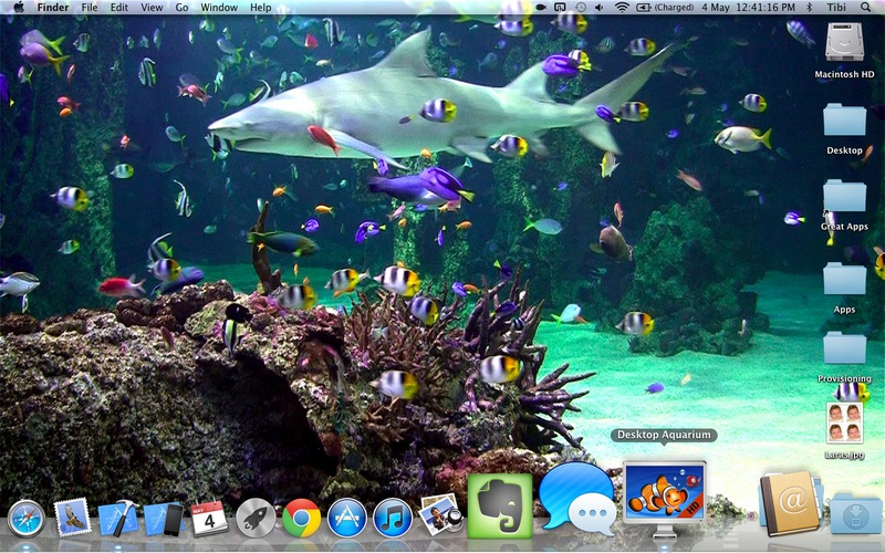 Desktop Aquarium free on the Mac App Store