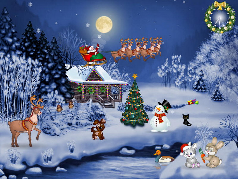 Free HD Christmas Wallpapers Group (84+)