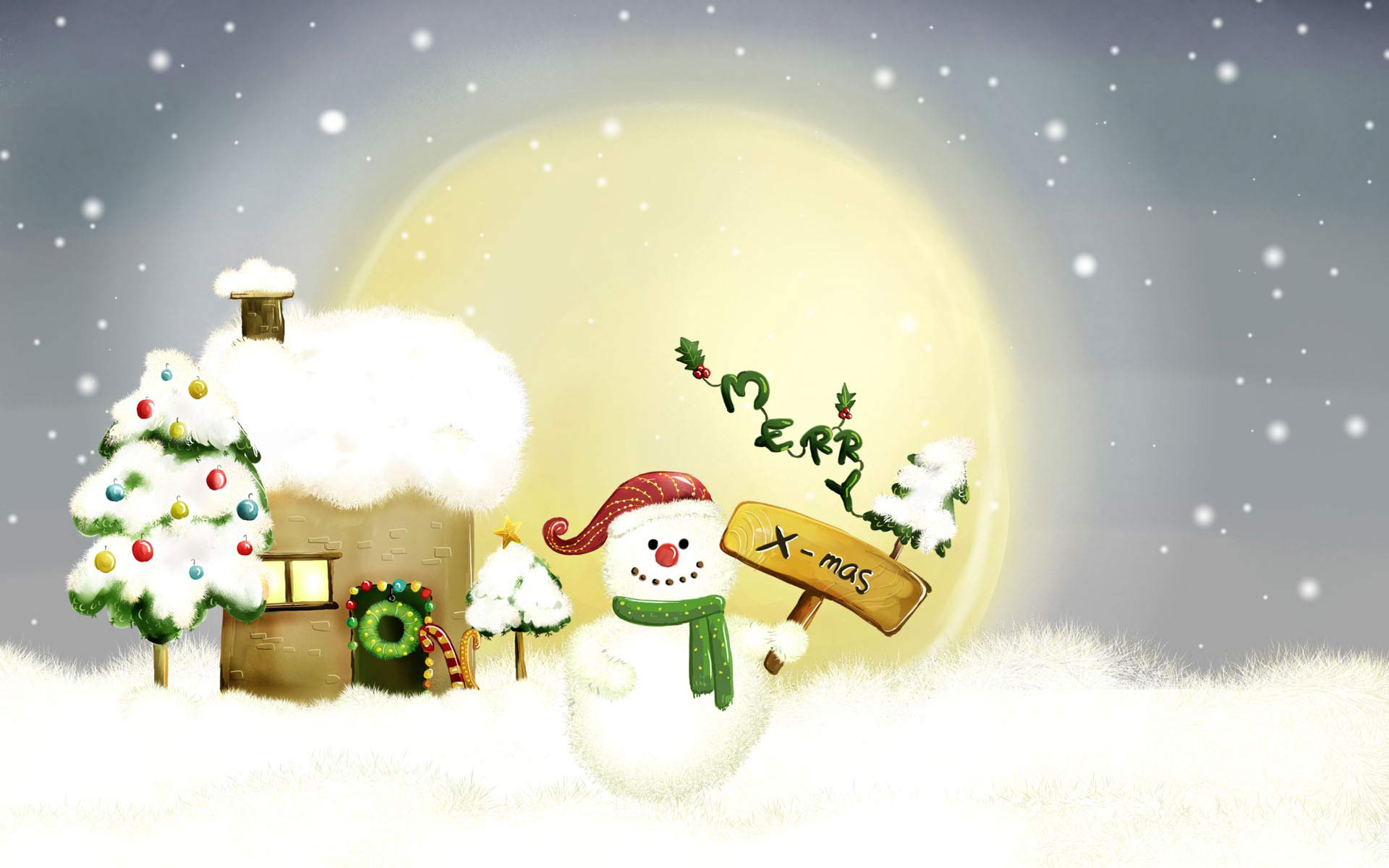 Collection of Christmas Laptop Wallpaper on HDWallpapers